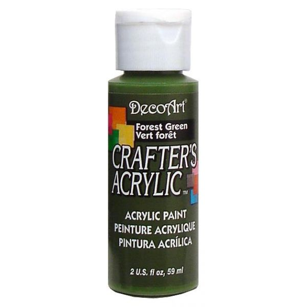 Deco Art Forest Green Crafter's Acrylic Paint