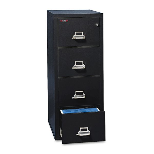 FireKing 4-Drawer Vertical File Cabinet