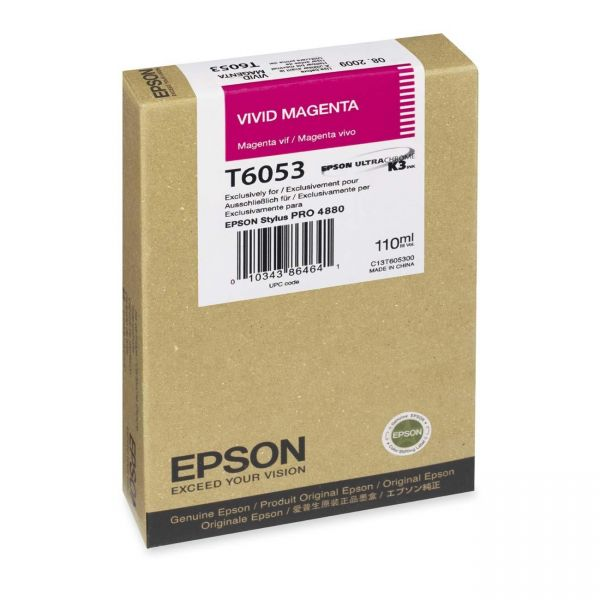 Epson T605B Magenta Ink Cartridge
