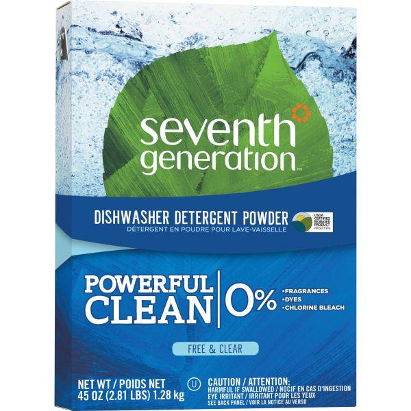 Seventh Generation Natural Powder Dishwasher Soap