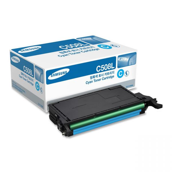 Samsung C508 Cyan High Yield Toner Cartridge