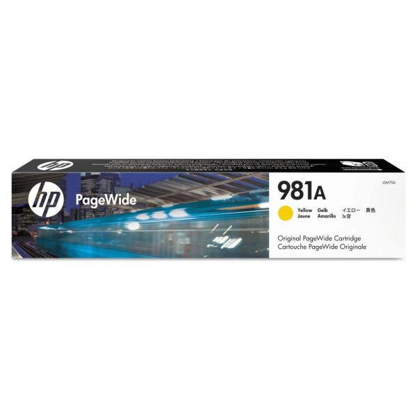 HP 981A Yellow Ink Cartridge (J3M70A)