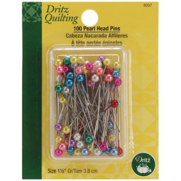 Dritz Quilting Pearl Head Pins