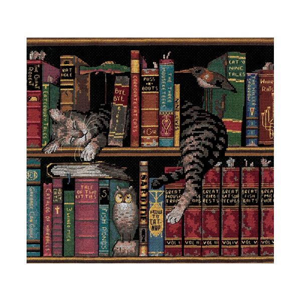 Dimensions Frederick The Literate Counted Cross Stitch Kit