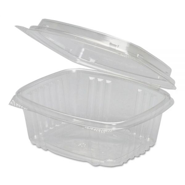 Genpak Plastic Clamshell 12 oz Deli Containers