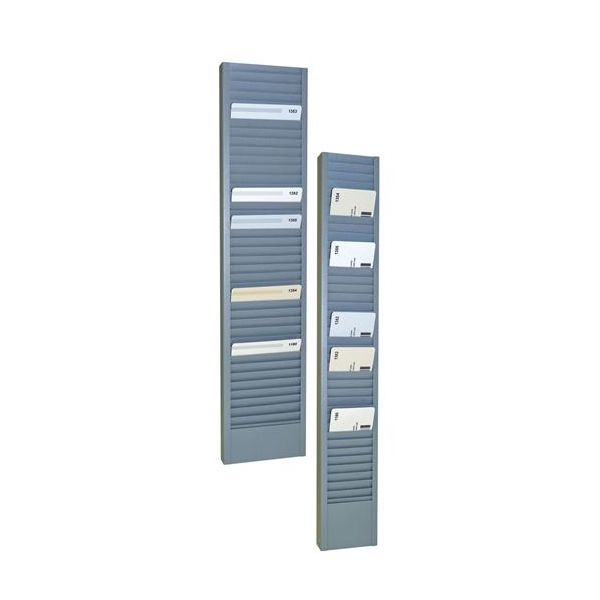 SteelMaster Swipe Card/Badge Rack
