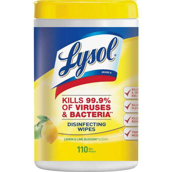 Lysol Lemon/Lime Blossom Wipes