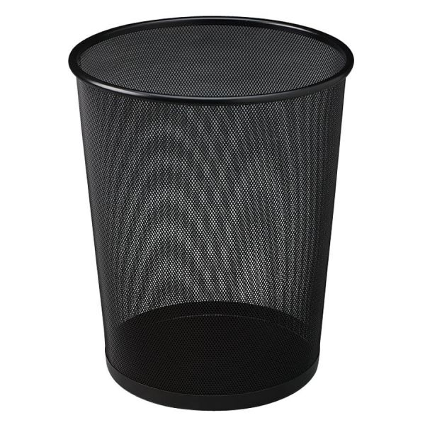 United Concept Collection Open-Top Mesh 5 Gallon Trash Can