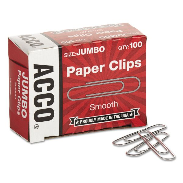 Acco Jumbo Paper Clips