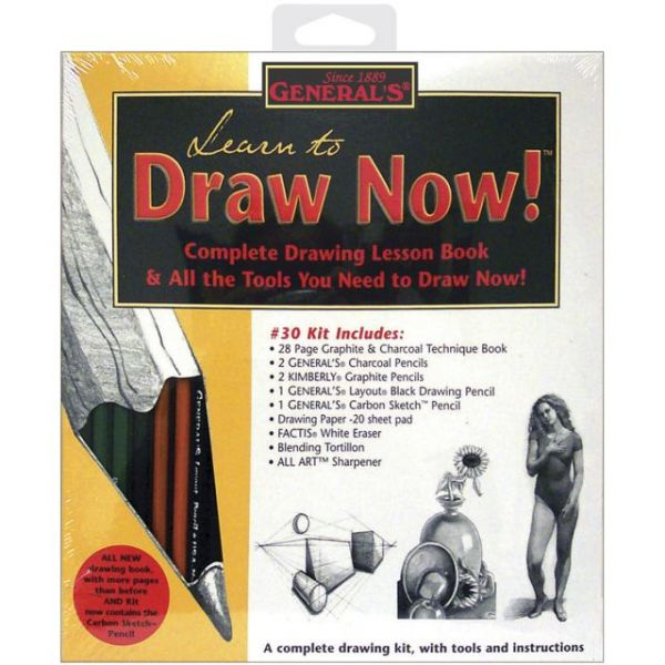 Learn To Draw Now! Kit
