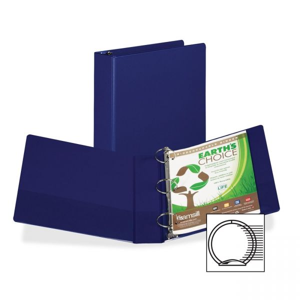 "Samsill 2"" 3-Ring Storage Binder"
