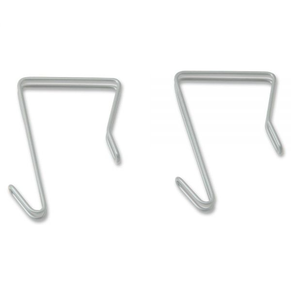 Lorell Industrial Wire Shelving Single Hooks