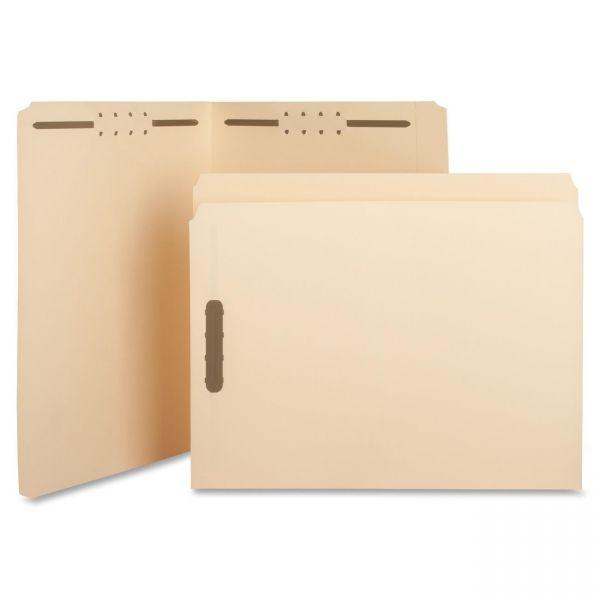 Sparco Top-Tab File Folders With Fasteners