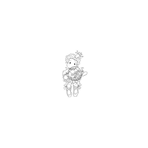 """Once Upon A Time Cling Stamp 5.5""""X3.75"""" Package"""