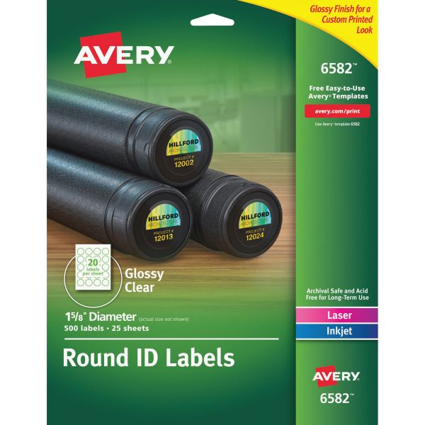 Avery Permanent Multipurpose Labels