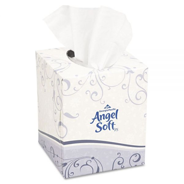 Angel Soft ps Premium 2-Ply Facial Tissues