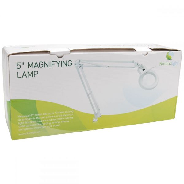 "Naturalight 5"" Magnifying Lamp - L"