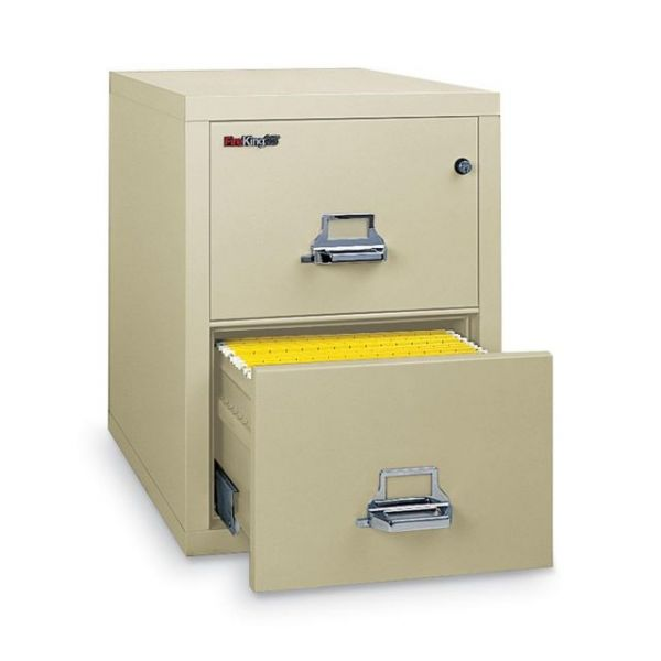 FireKing Insulated Vertical File Cabinet