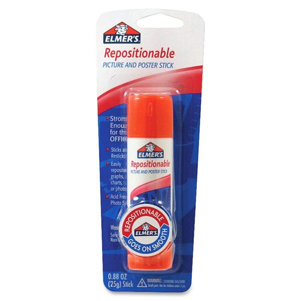 Elmer's Repositionable Poster & Picture Glue Stick