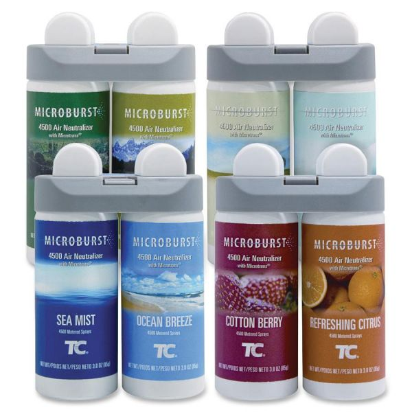 Rubbermaid Microburst Duet Variety Pack Refills