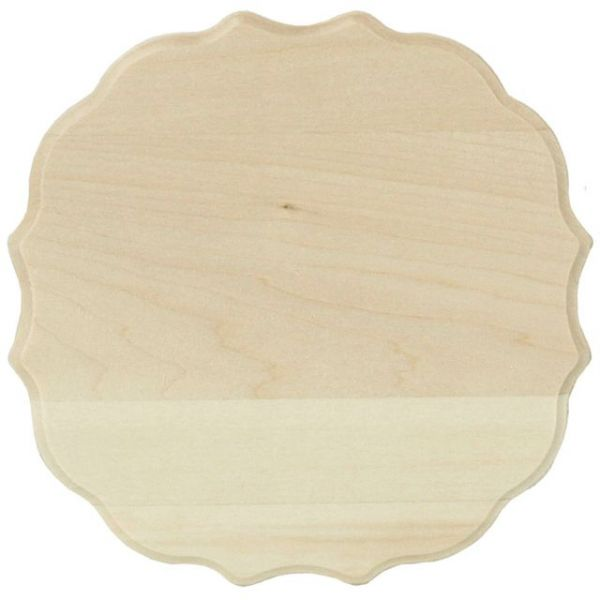 Basswood Thin Plaque