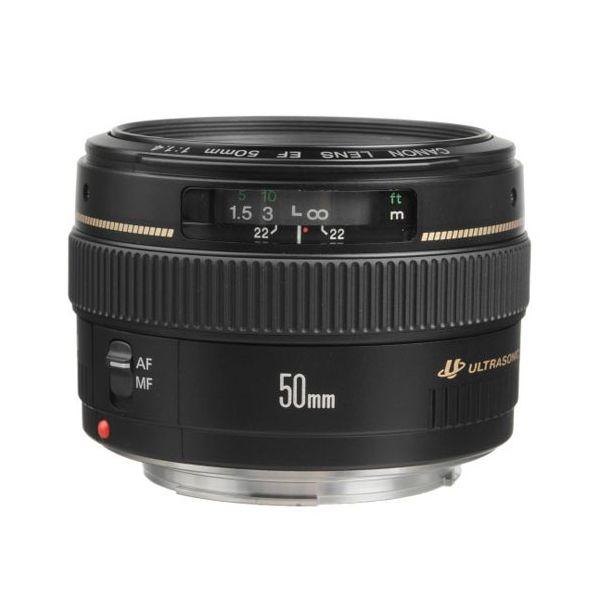 Canon EF 50mm f/1.4 USM Standard & Medium Telephoto Lens
