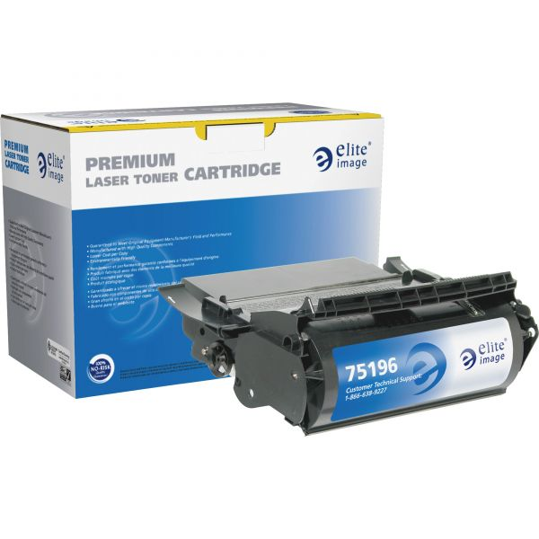 Elite Image Remanufactured MICR Toner Cartridge - Alternative for Lexmark (12A6860)