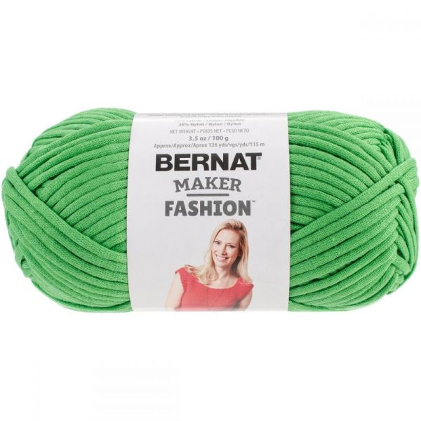 Bernat Maker Fashion Yarn - Green