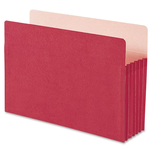 Smead 74241 Red Colored File Pockets