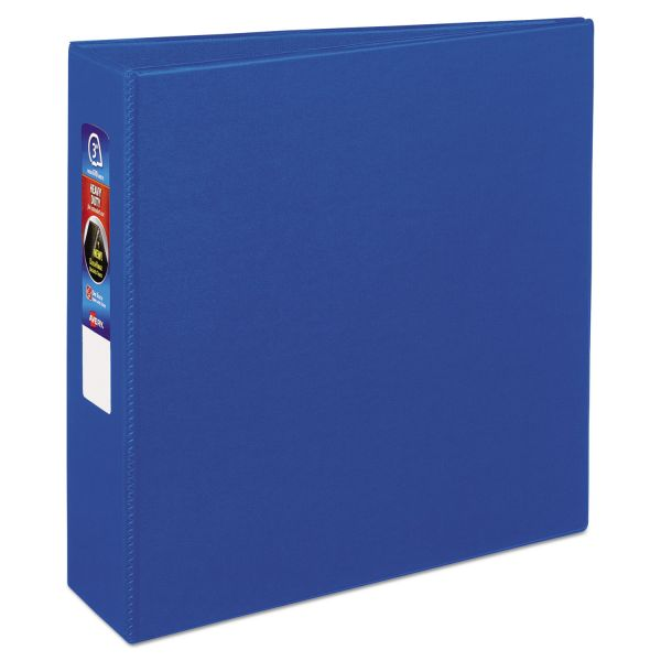 "Avery Heavy-Duty 3-Ring Binder with One Touch EZD Rings, 3"" Capacity, Blue"