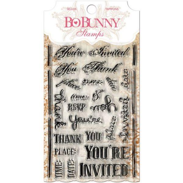 "BoBunny Stamps 4""X6"""