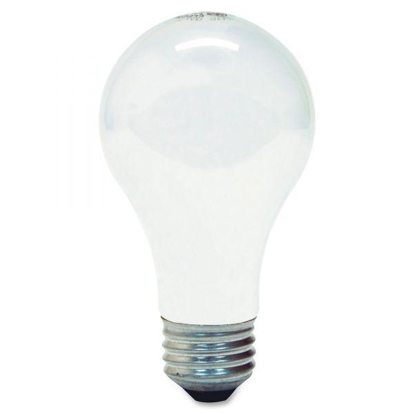 GE Halogen Bulb, Globe, 43 Watts, Soft White, 4/Pack