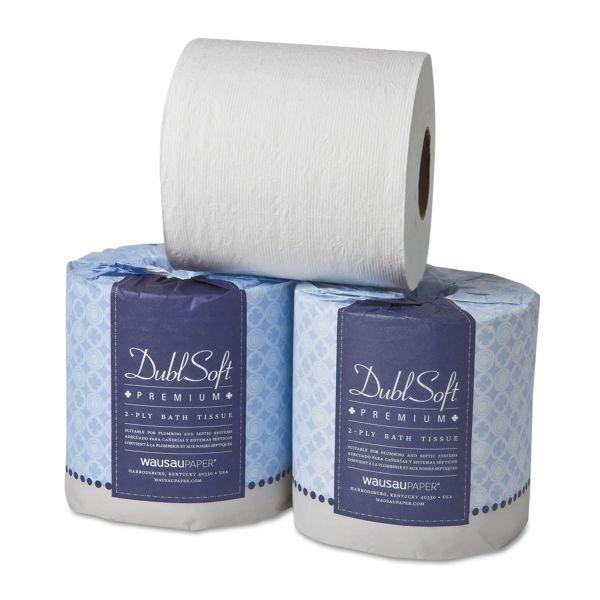 DoubleSoft Premium 2 Ply Toilet Paper
