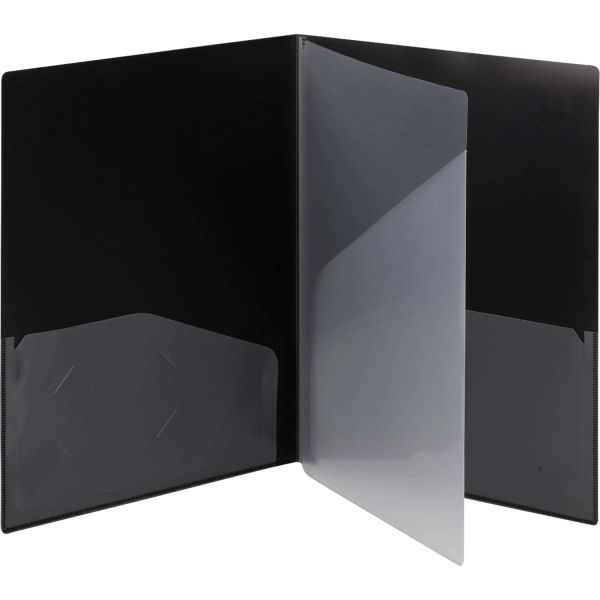 Smead Poly Four-Pocket Folders