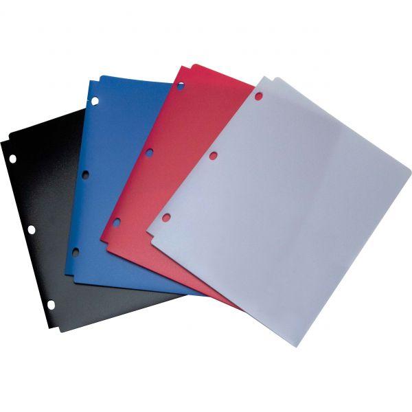 Wilson Jones Snapper Twin Pocket Poly Folder