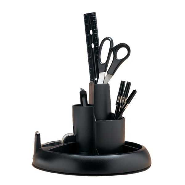 Rubbermaid Three-Tier Rotary Desktop Organizer