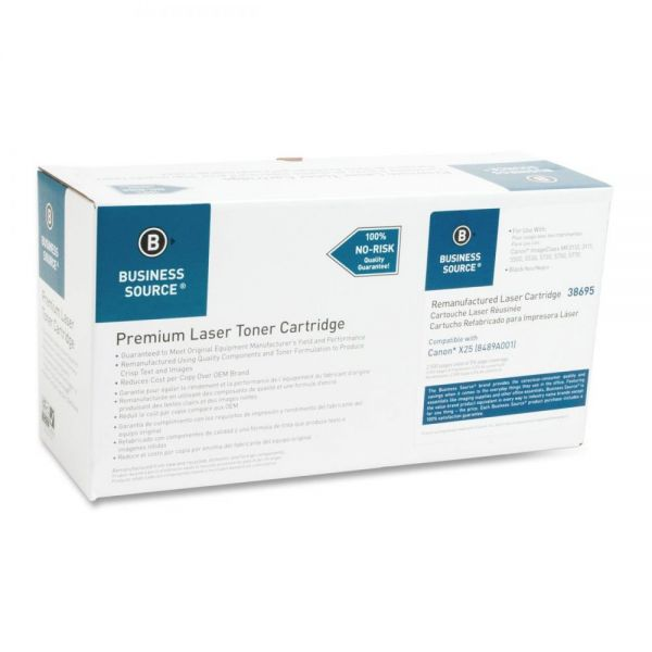 Business Source Remanufactured Canon X25 Toner Cartridge