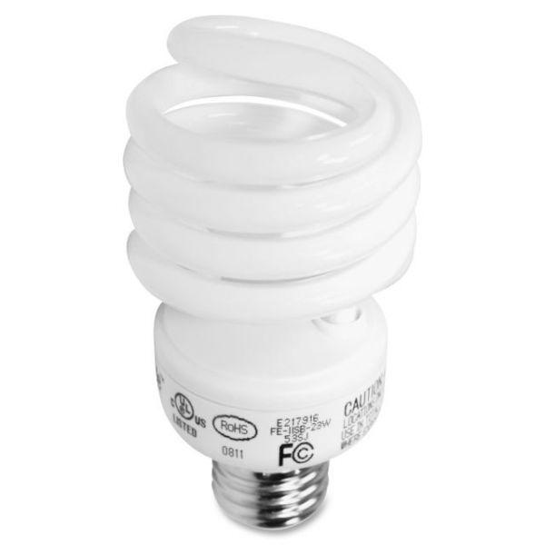 GE 23-watt Spiral CFL Bulb