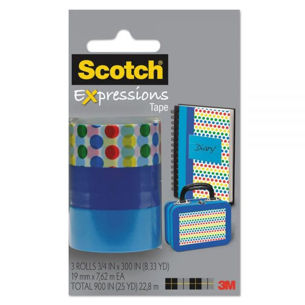 Scotch Expressions Transparent Tape Refills