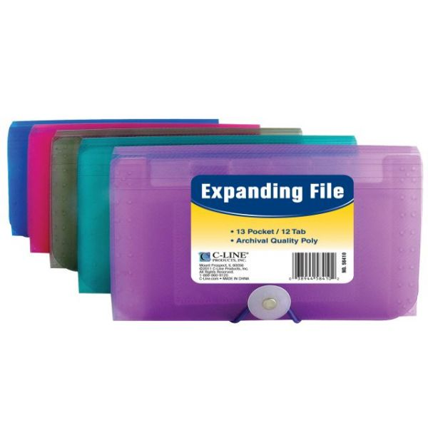 C-Line Coupon Size Expanding File