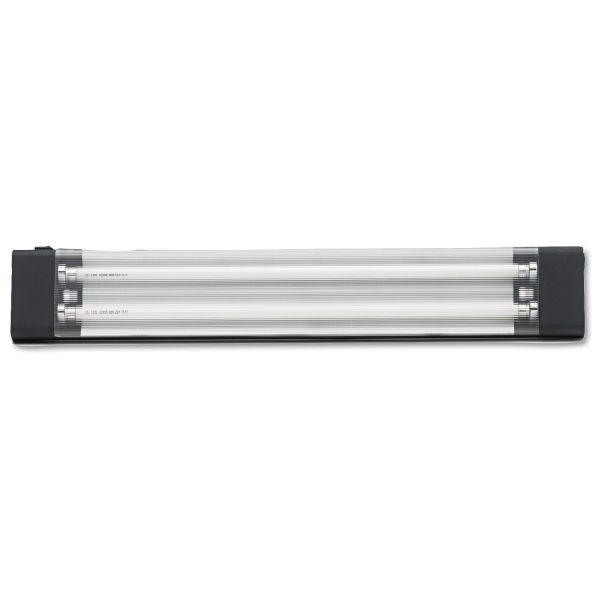 Tiffany Industries Aberdeen Under Hutch Tasklight, 25 x 4 x 1, 13 Watt, Black