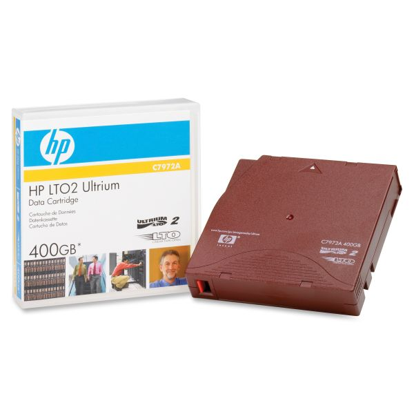 HP LTO Ultrium Generation II Data Cartridge