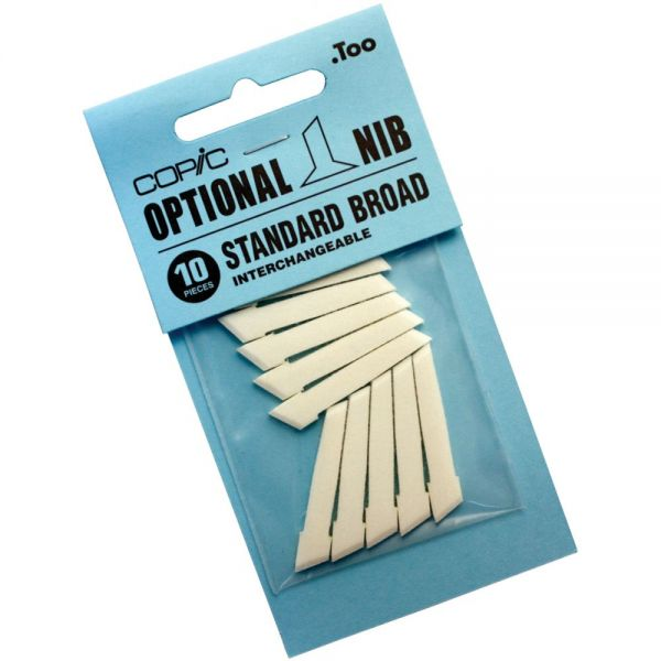 Copic Original Marker Standard Broad Nibs 10/Pkg