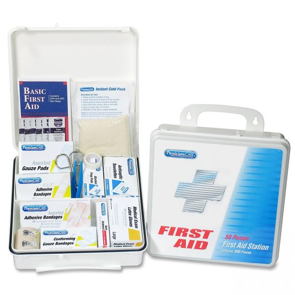 PhysiciansCare 311 Pc Weatherproof Seal First Aid Station