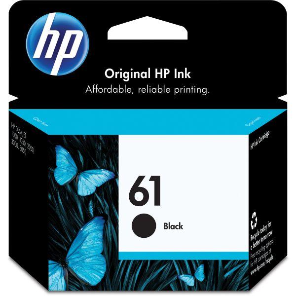HP 61 Black Ink Cartridge (CH561WN)