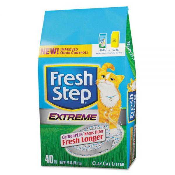 Clorox Fresh Step Cat Litter, 40 lb Bag
