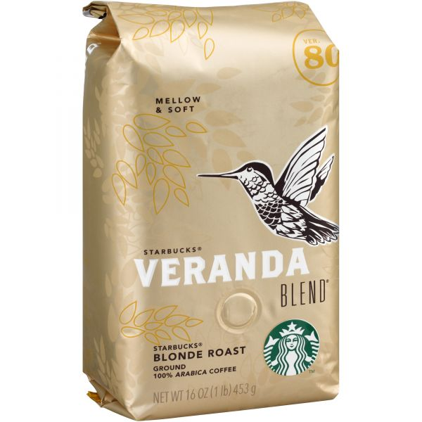 Starbucks Ground Coffee (1 lb)