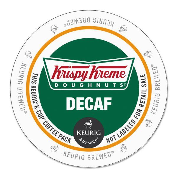 Krispy Kreme Doughnuts Decaf Coffee K-Cups