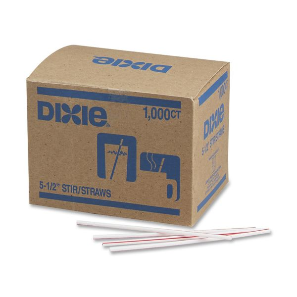 "Dixie 5-1/2"" Stir Straws"