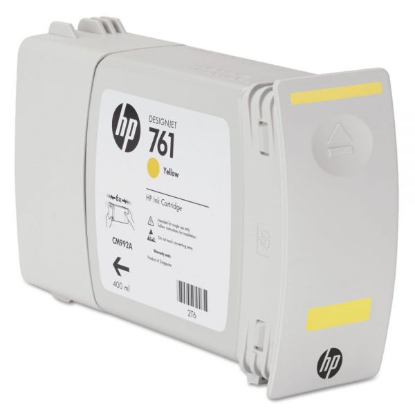 HP 765 Yellow Ink Cartridge (F9J50A)